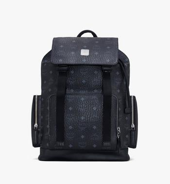 Medium Brandenburg Backpack in Visetos Black MCM Style # MMKASBG04BK001 Black | Black