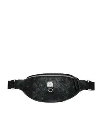Small Fursten Belt Bag in Visetos Black MCM Style # MUZ9SFI27BK001 Black | Black VISETOS