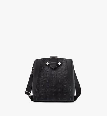 Essential Bucket Bag in Visetos Original MCM Style # MWDASSE05BK001 Black | Black