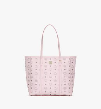 Medium Toni Shopper in Visetos Powder Pink MCM Style # MWPAATN03QH001 Pink | Powder Pink