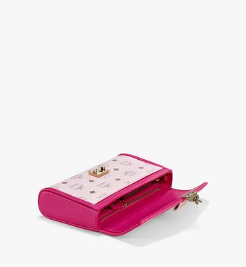 Medium Millie Crossbody in Visetos Leather Block Powder Pink MCM Style # MWRAAME09QH001 Pink | Powder Pink VISETOS