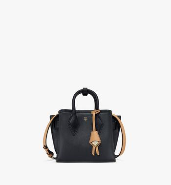 Mini Neo Milla Tote in Park Avenue Leather Black MCM Style # MWTASMA04BK001 Black | Black