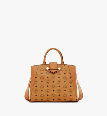 Medium Essential Tote in Visetos Original Cognac  MCM Style # MWTASSE17CO001 Cognac | Cognac