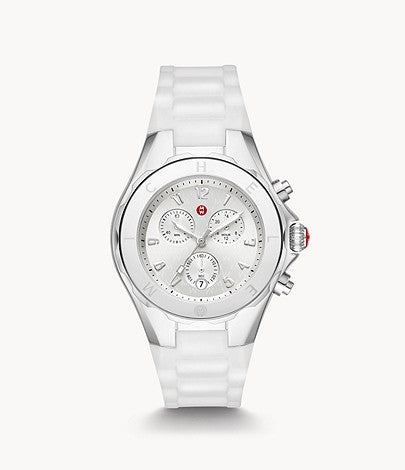 Jellybean Stainless White Watch MICHELE Style # MWW12F000090 White