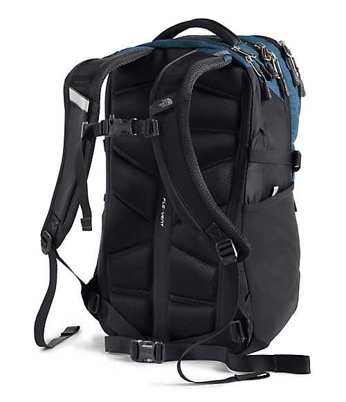 Recon Backpack | The North Face Style # NF0A3KV1-C1 SHADY BLUE LIGHT HEATHER/WEATHERED BLACK