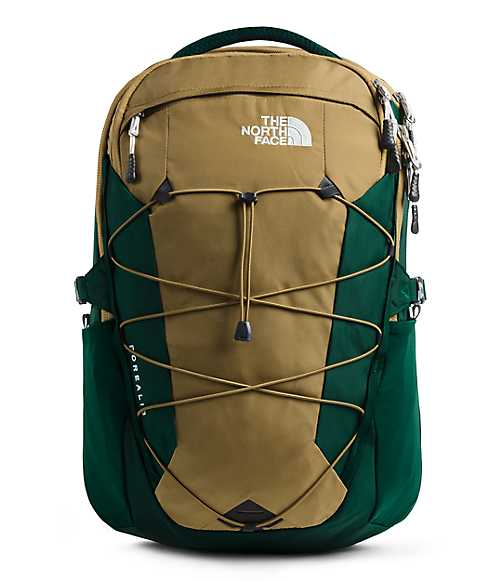 Borealis Backpack | The North Face Style # NF0A3KV3-C1 BRITISH KHAKI/NIGHT GREEN