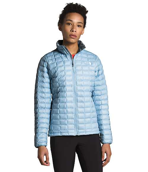 Women's ThermoBall™ Eco Jacket | The North Face Style # NF0A3Y3Q-O1 ANGEL FALLS BLUE/MID GREY CAMO PRINT