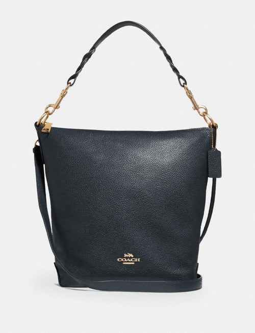 HALLIE SHOULDER BAG IN SIGNATURE CANVAS COACH Style # F31507 Im/Midnight