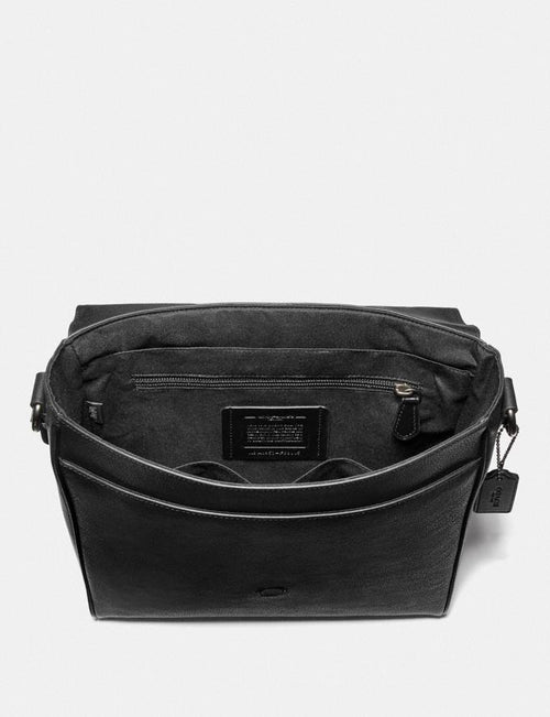 Houston Map Bag Style No. F68015 Black/Black Antique Nickel