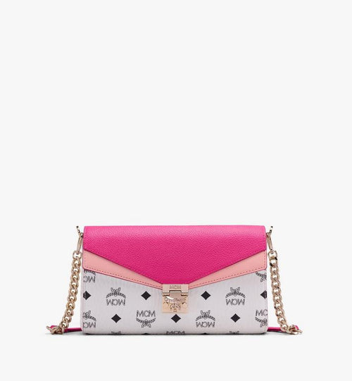 Medium Millie Crossbody in Color Block Visetos Pink Peacock MCM Style # MWRAAME08QJ001 	 Pink | Pink Peacock VISETOS