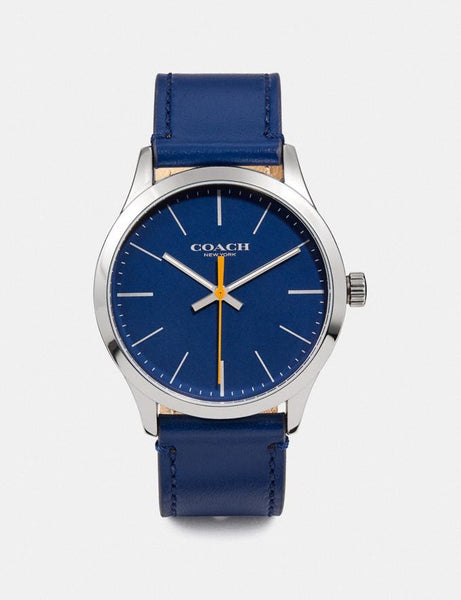 Coach Baxter Watch, 39mm Style # W1582 NAVY