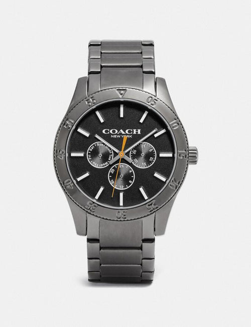 Casey Watch, 42mm Coach Style # W1619 Grey/Ip