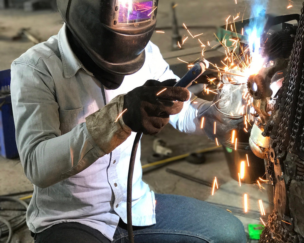 How to Turn Recycled Metal into Metal Art - KALIFANO Metal Art