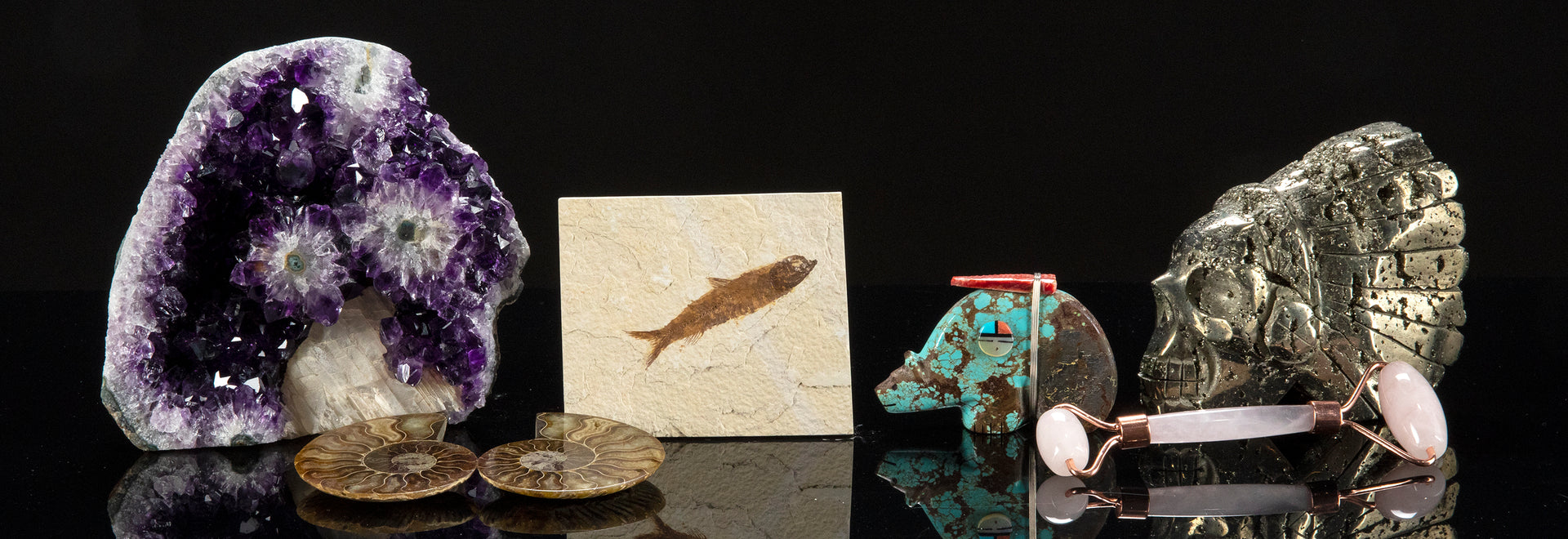 Gemstones and Fossils Image