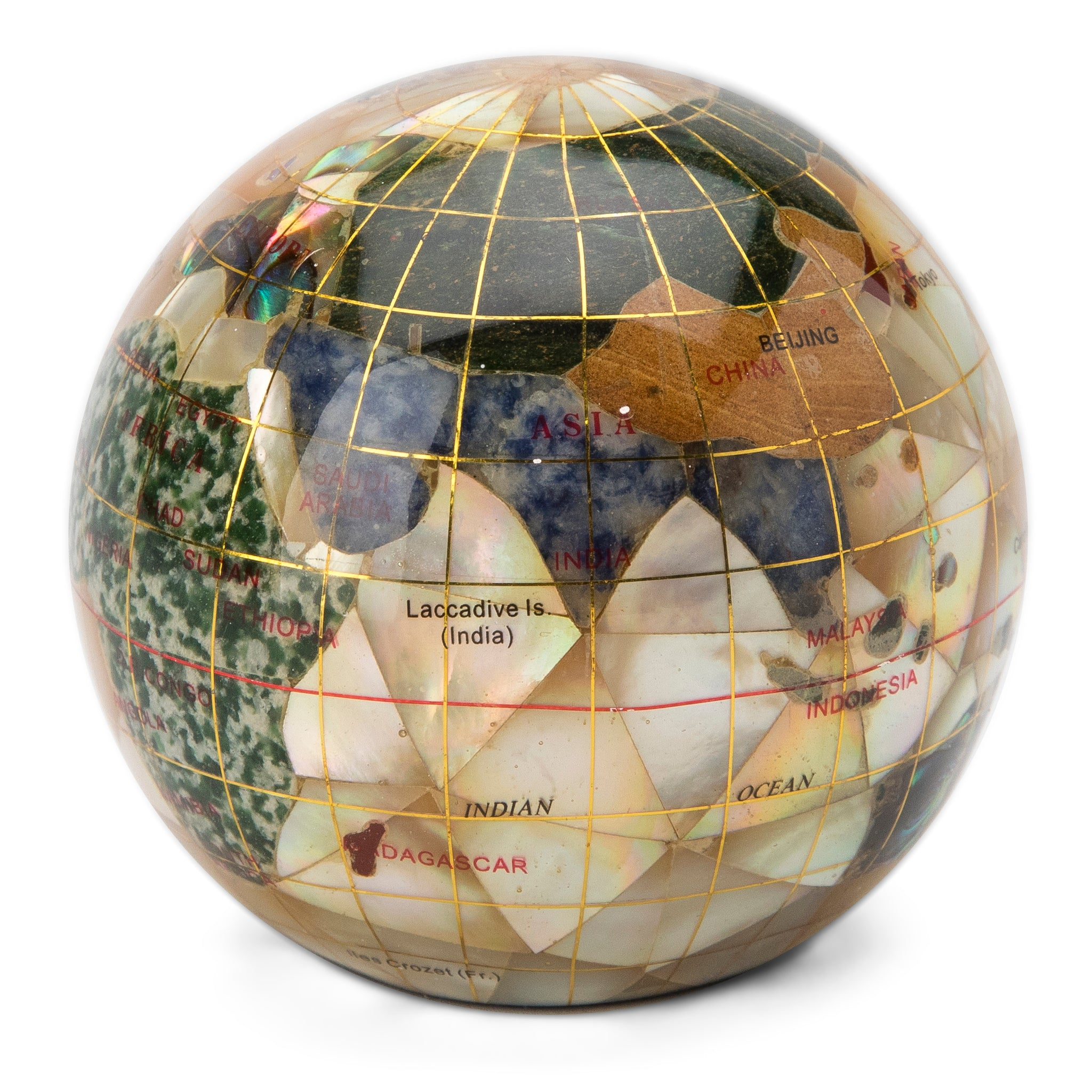 small and unusual gifts for the holidays gemstone globe