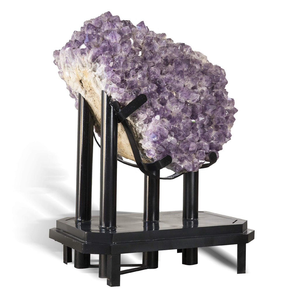 Kalifano Amethyst BAG96000.002 - Brazilian Amethyst Cluster540 kg - Custom Base BAG96000.002