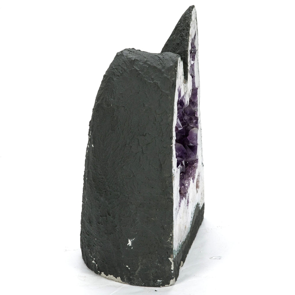 Kalifano Amethyst Natural Brazilian Amethyst Geode Cathedral - 18 in / 83 lbs BAG7800.002