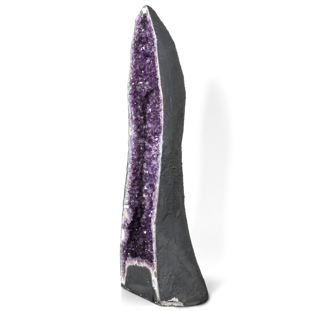 Kalifano Amethyst Natural Brazilian Amethyst Geode Cathedral - 52 in / 248 lbs BAG28000.001