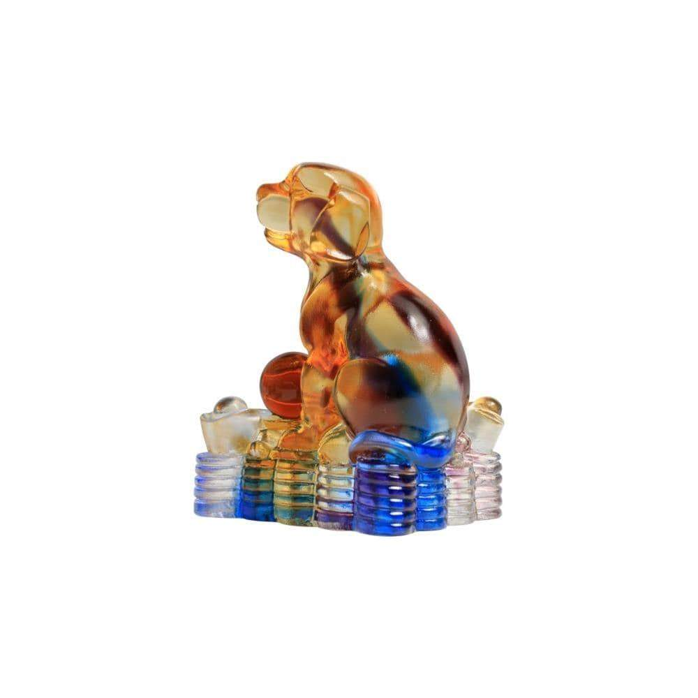Kalifano Crystal Carving CRYSTAL.016 - Dog Crystal Carving Art (CRYSTAL.088) CRYSTAL.016
