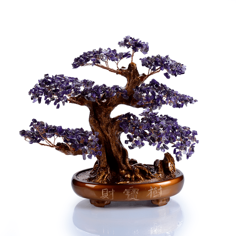 Kalifano Gemstone Trees K9150-AM - Natural Gemstone Tree of Life  -Amethyst K9150-AM