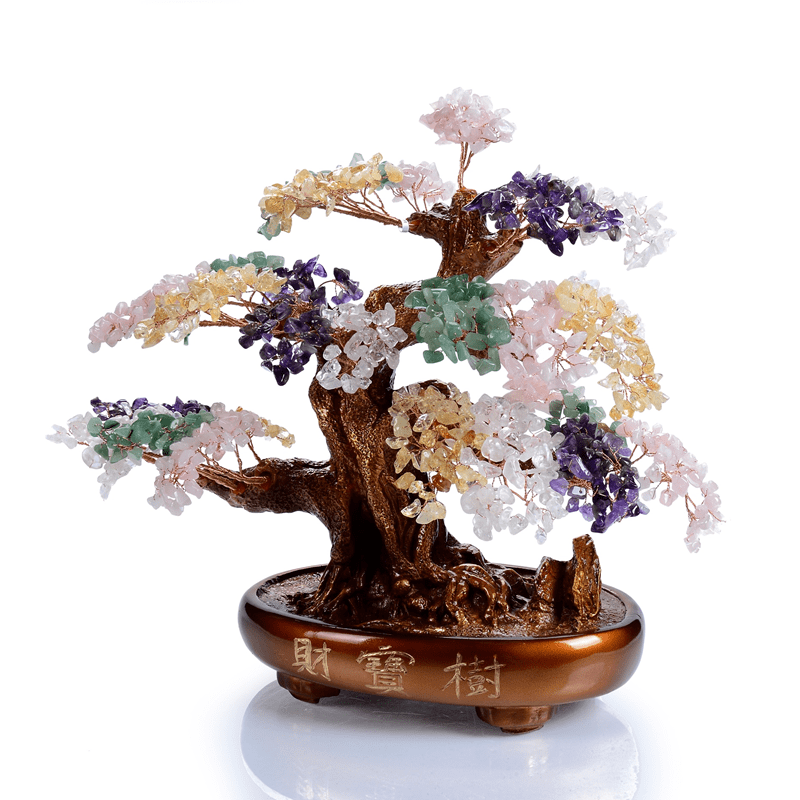 Kalifano Gemstone Trees K9150-MT - Natural Gemstone Tree of Life  -Multi K9150-MT