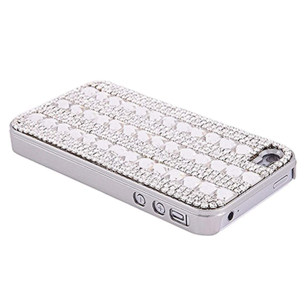 Kalifano iPhone SPC-013-C - iPhone 4 Case Made w/ Czech Crystals - Diamond Crystals SPC-013-C