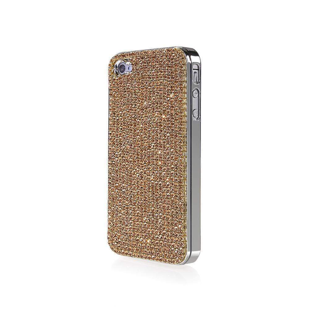 Kalifano iPhone SPC-022-LCT - iPhone 4 Case Made w/ Light Colorado Topaz Crystals SPC-022-LCT