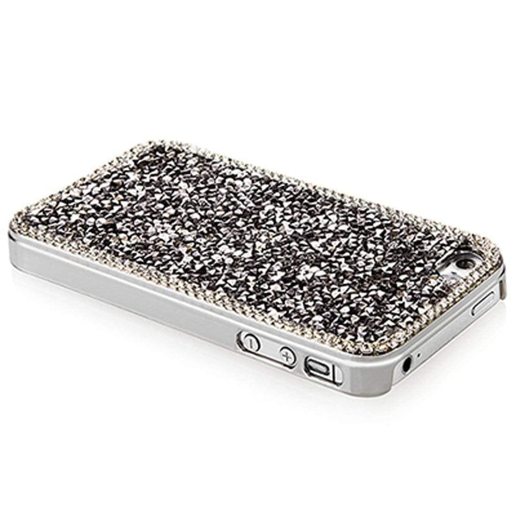 Kalifano iPhone SPC-051-CAL - iPhone 4 Cover made with Crystal Comet Argent Light Crystal & New Element SPC-051-CAL