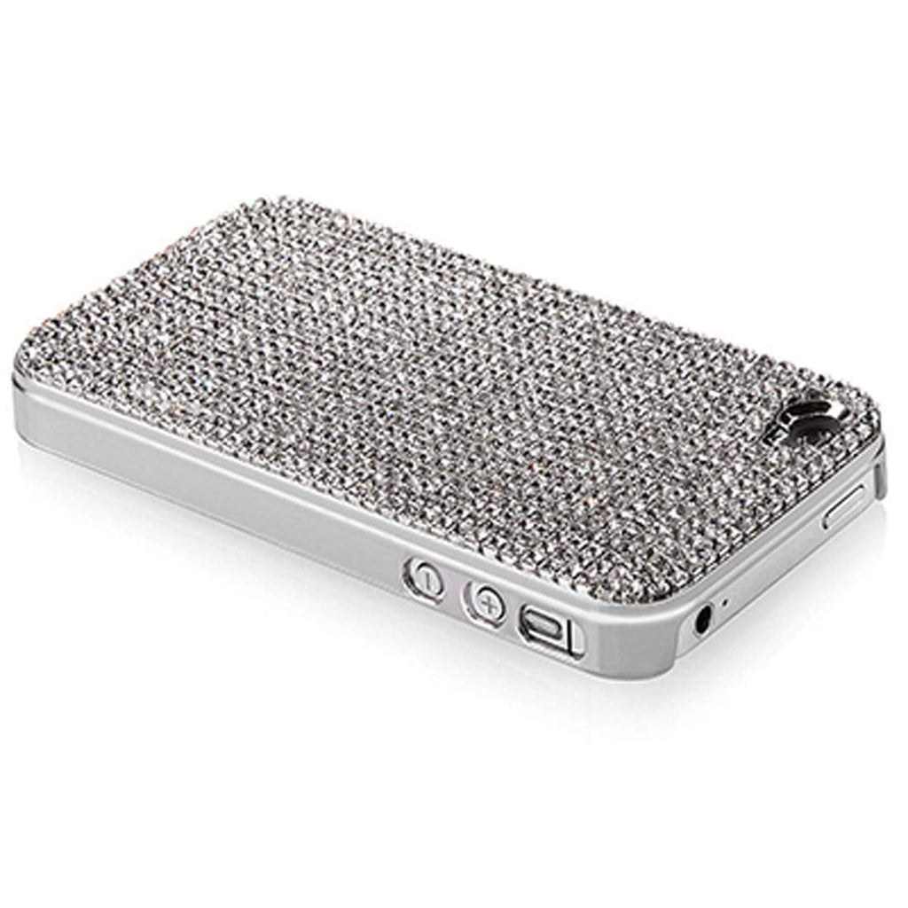 Kalifano iPhone SPC-052C-C - iPhone 4 Cover made with Clear Crystals SPC-052C-C