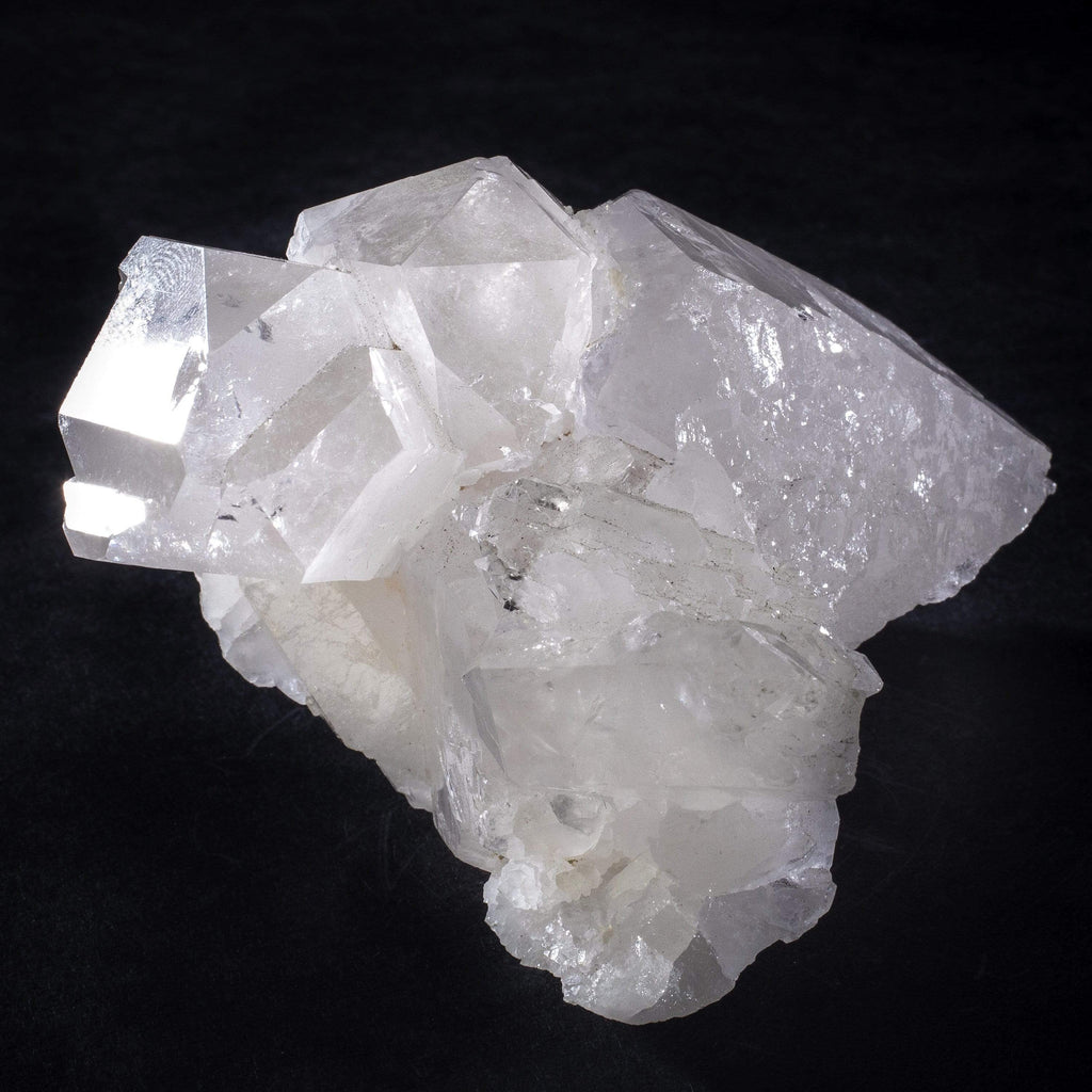 Kalifano Quartz Natural Brazilian Quartz Point Cluster - 2.5 in / 455 g QC240.006