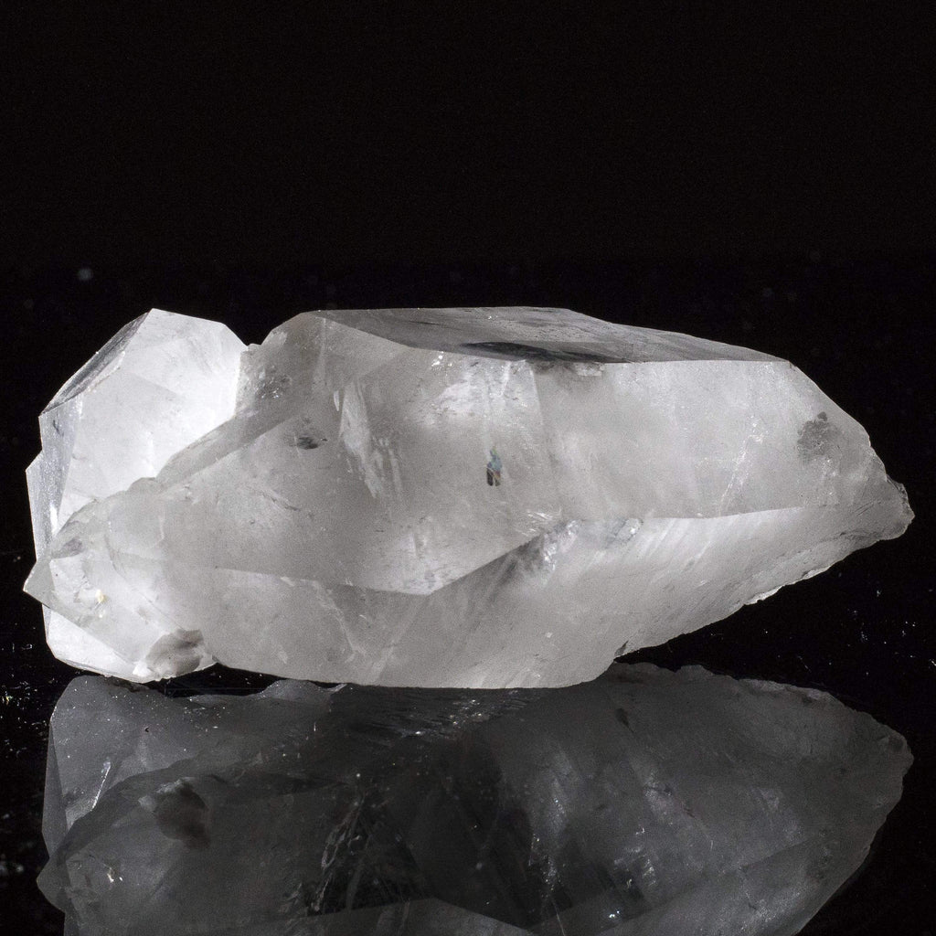 Kalifano Quartz Natural Brazilian Quartz Point Cluster - 2 in / 290 g QC240.015