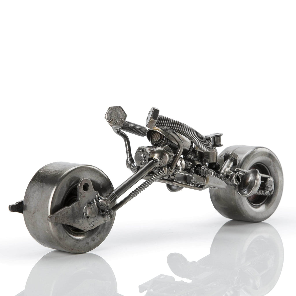 Kalifano Recycled Metal Art Batpod Inspired Recycled Metal Sculpture RMS-600BP-N