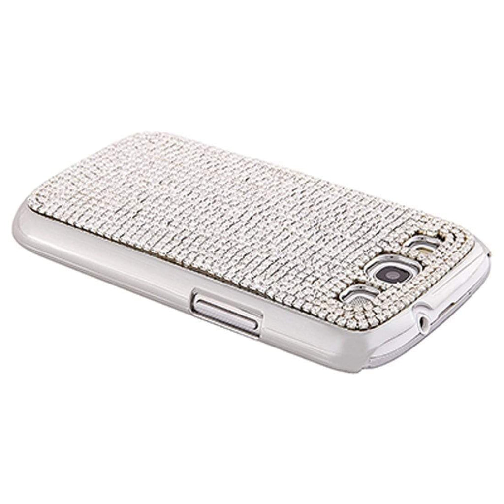 Kalifano Samsung Galaxy SPCG-005C-C - Galaxy S3 Cover with Clear Crystals SPCG-005C-C