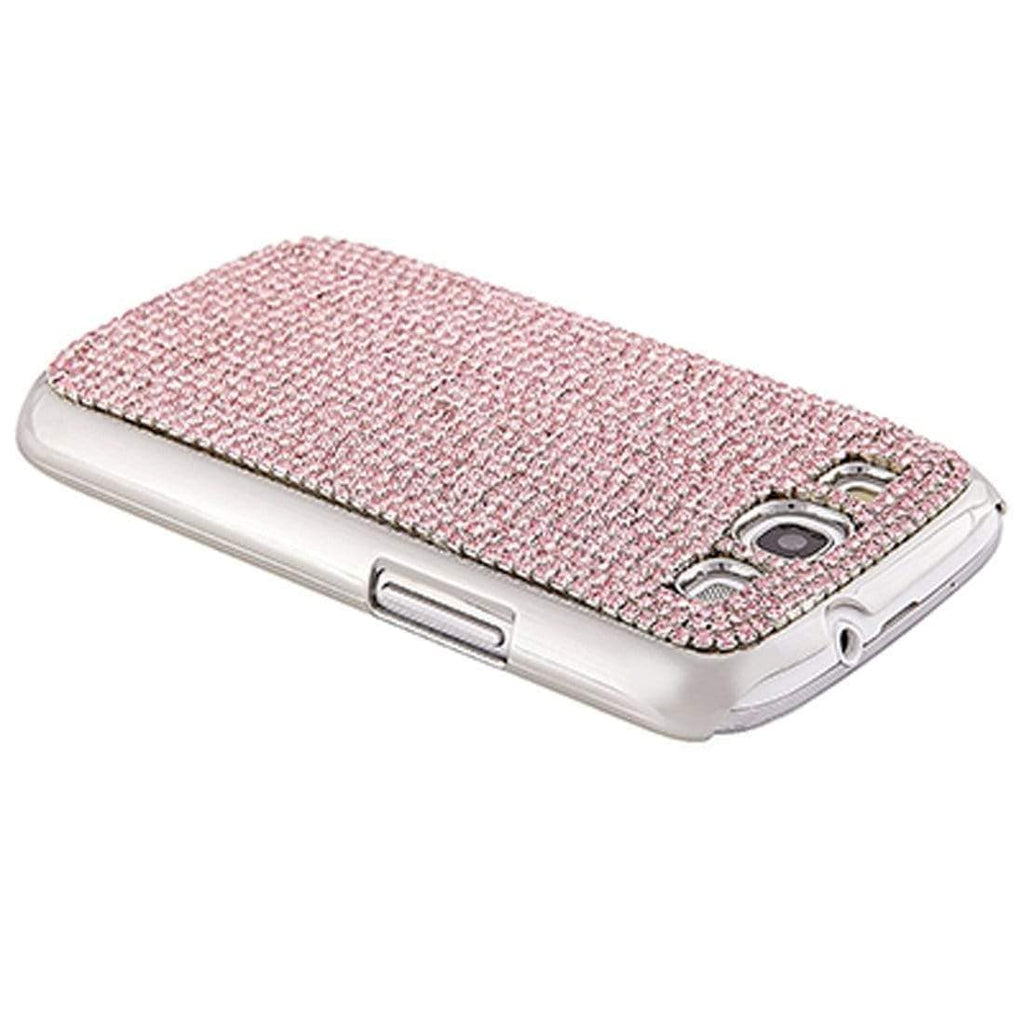 Kalifano Samsung Galaxy SPCG-005C-R - Galaxy S3 Cover with Rose Crystals SPCG-005C-R