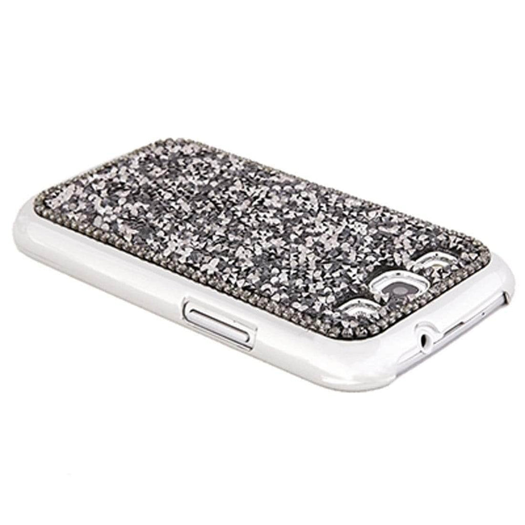 Kalifano Samsung Galaxy SPCG-013-CAL - Galaxy S3 Cover made with Crystal Comet Argent Light Crystal & New Element SPCG-013-CAL