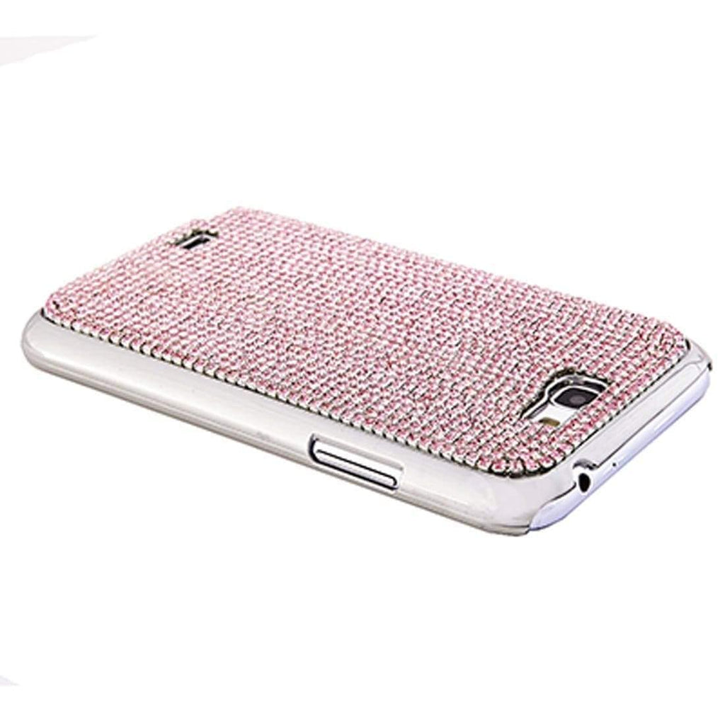 Kalifano Samsung Galaxy SPCG-NII-005-R - Samsung Galaxy Note II Cover with Rose Czech Crystals SPCG-NII-005-R