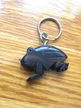Load image into Gallery viewer, African Wooden Keychain - Frog - Accessories