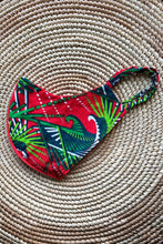 Load image into Gallery viewer, Ankara Reversible Face Mask Covering in Cali RED