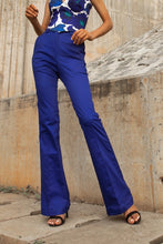 Load image into Gallery viewer, S4 Blue Wide Leg Trousers