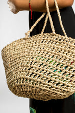 Load image into Gallery viewer, Weaved Basket Bag