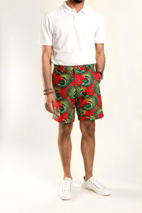 VV Shorts in Cali Red