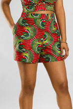 Load image into Gallery viewer, VV High Rise Shorts in Cali Red