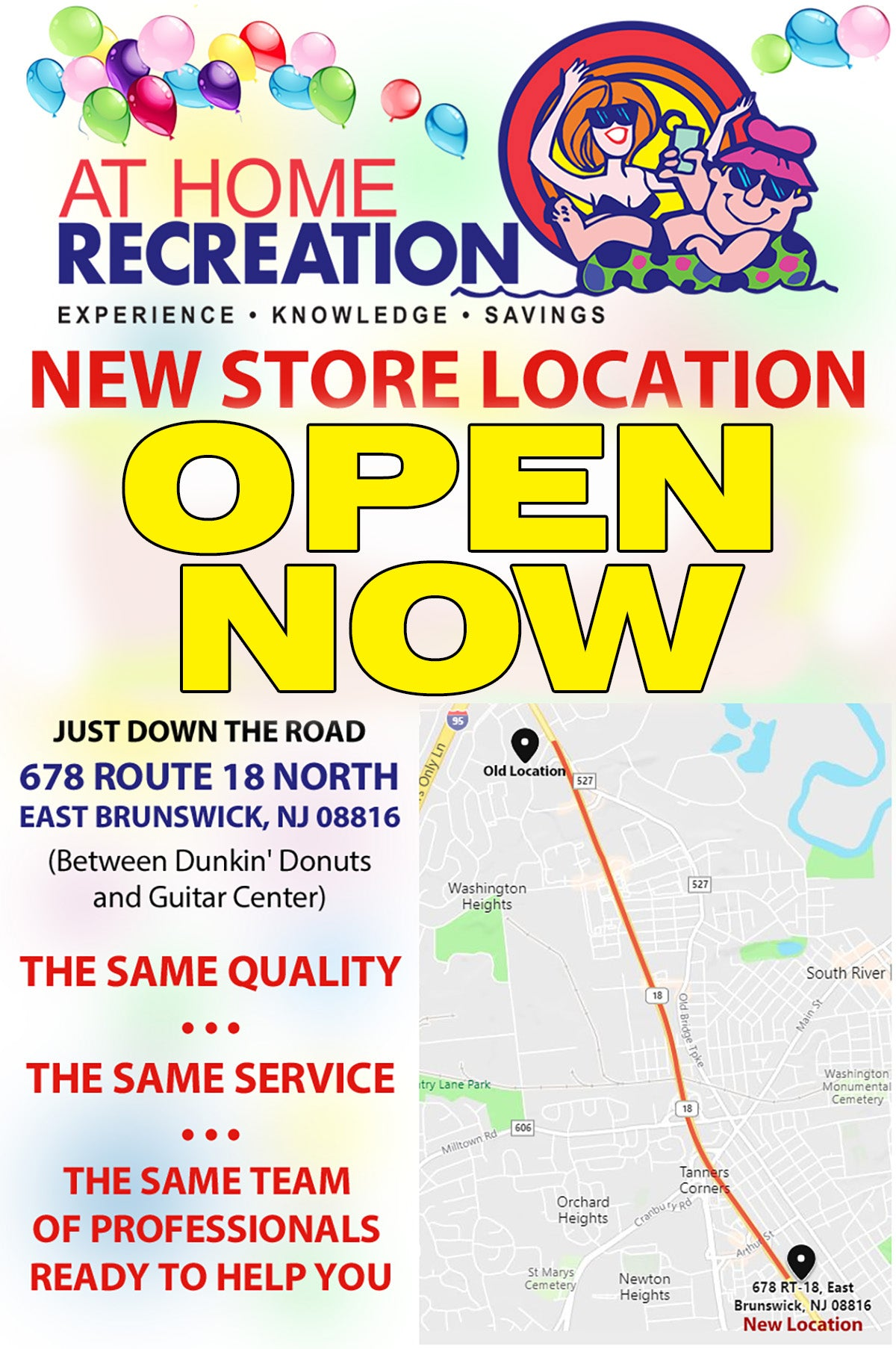 New Store Location Opening
