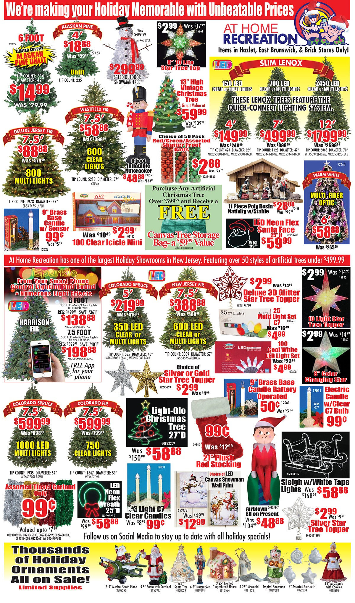 Holiday Unbeatable Prices