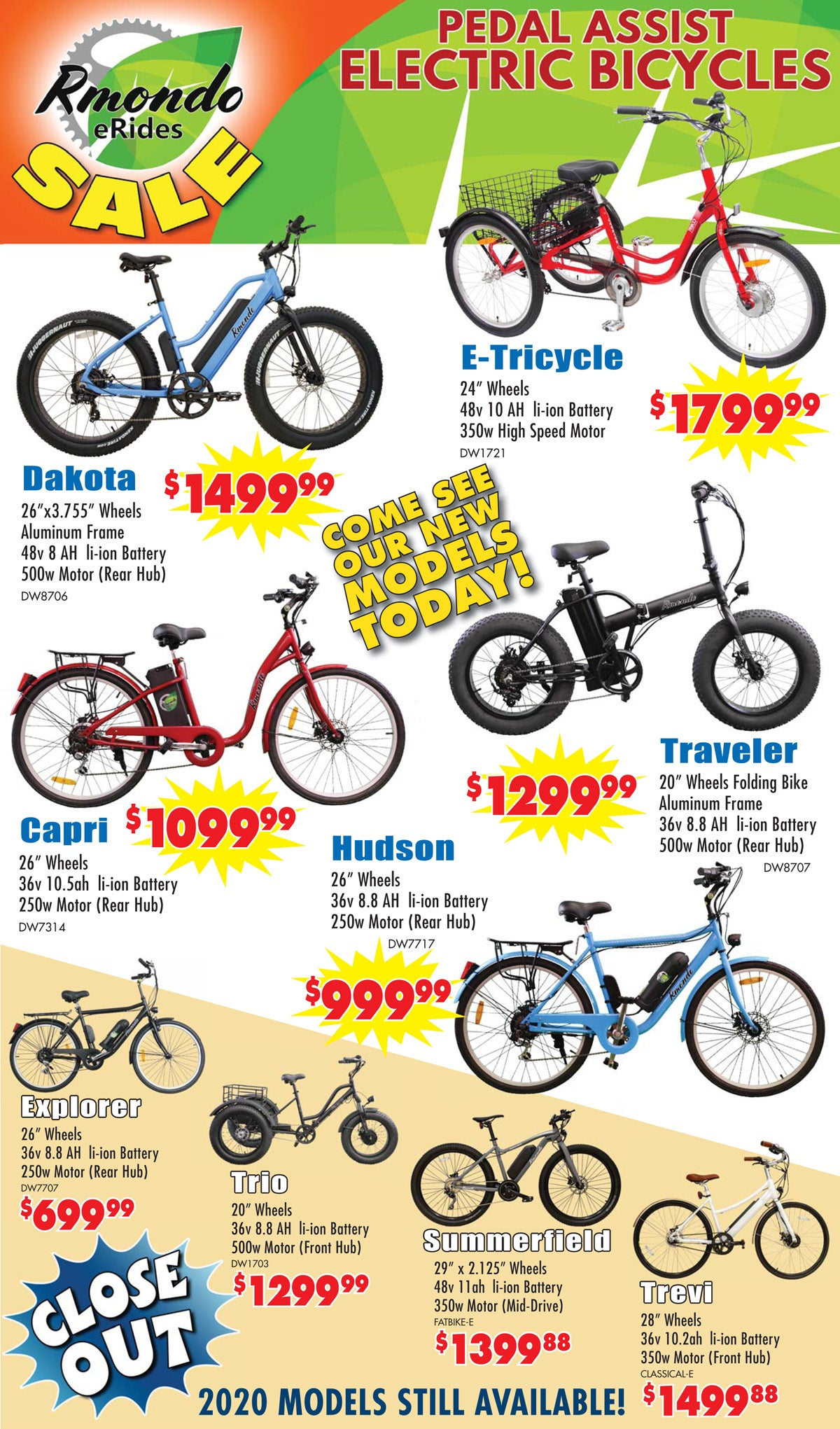 Electric Bicycles Sale