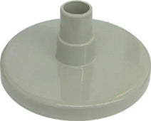 Vacuum Plate With Hose Adaptor Gray