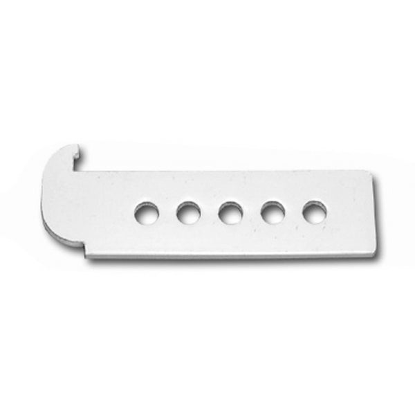 UNIVERSAL FENCE BRACKET WHITE