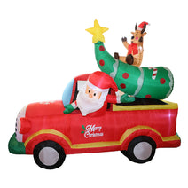 7 ft. Inflatable Santa In A Truck