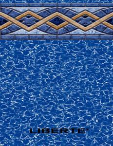 Esther Williams Liberty Tile Beaded Swimming Pool Liner for 48\