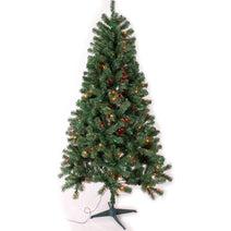6.5 ft. Green Fir Christmas Tree